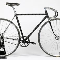 Cadre de vélo gainé de cuir